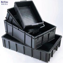 防静电塑料周转箱整理箱收纳箱防静电物流箱厂家直销