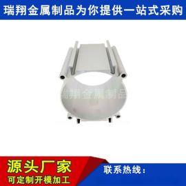 厂家定制加工铝合金伸缩杆氧化管气缸大口径铝管型材