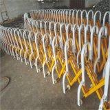 体育馆伸缩护栏地铁防护拉伸围栏预应力伸缩路障栏杆