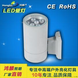 單頭壁燈6w-LED大功率戶外壁燈
