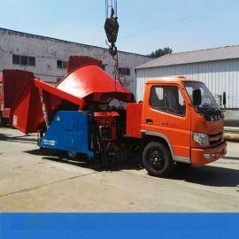 云南怒江拖拉机头混凝土喷浆车 液压自动上料喷浆车