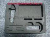 工具箱内衬包装 CNC海绵雕刻成型 EVA包装内衬