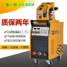 上海沪工NB-500E工业电焊机二氧化碳气体保护焊机350E不锈钢380V
