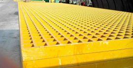 可定制玻璃钢格栅 过滤池网格板 下水道格栅