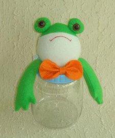 青蛙糖果瓶