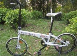 20寸铝合金折叠自行车