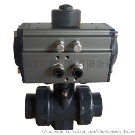 供应气动塑料球阀Q611F-10U批发
