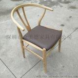 餐厅桌椅木质椅子,中西式茶餐厅湘菜馆饭店餐椅子定制