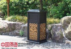 户外铸铝垃圾桶铸铝垃圾箱耐用环保