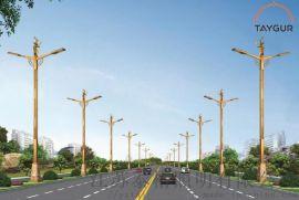泰LED照明燈、羊頭路燈,戶外路燈、太陽能路燈