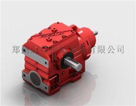 蜗轮齿轮减速机,蜗杆减速机S轴输入斜齿蜗轮减速机