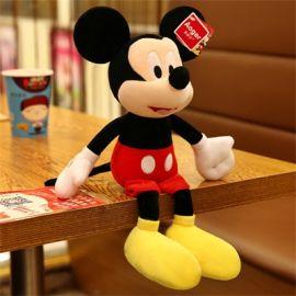 正版迪士尼米老鼠米奇米妮定製各類公仔布娃娃抱枕布書