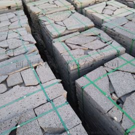 不规则纯天然火山石板材 规则火山石板材