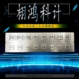 LED背光防水鍵盤售貨機鍵盤