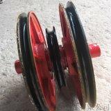 廠家供應起重滑輪組  鑄鋼鑄鐵滑輪片