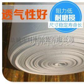 空氣斜槽透氣布透氣層透氣帶硫化布沸騰板