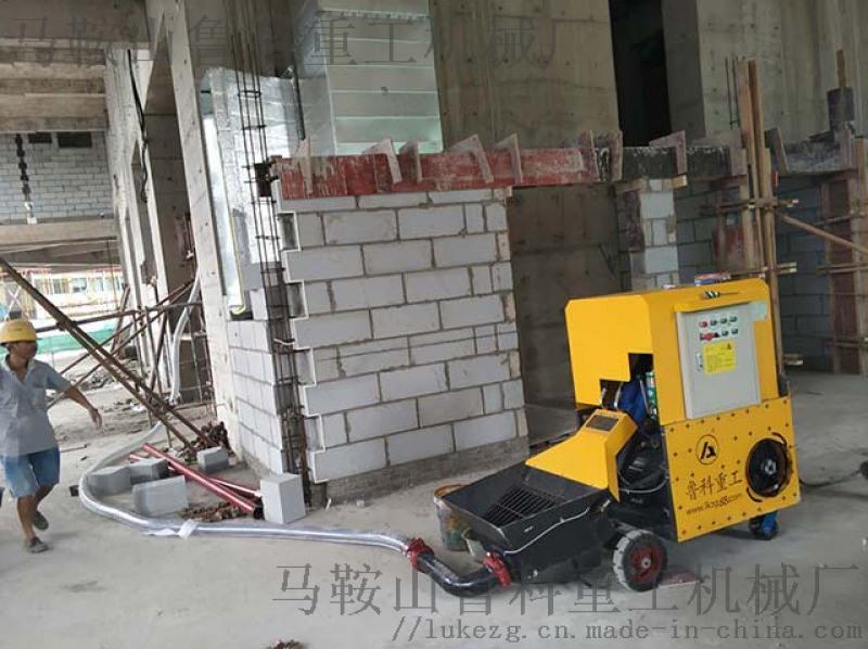 厂家告诉你二次构造柱专用输送泵到底要不要买