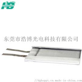 高温锂电池100℃厚度0.8mm聚合物锂电池084646凝胶固态超薄锂电池