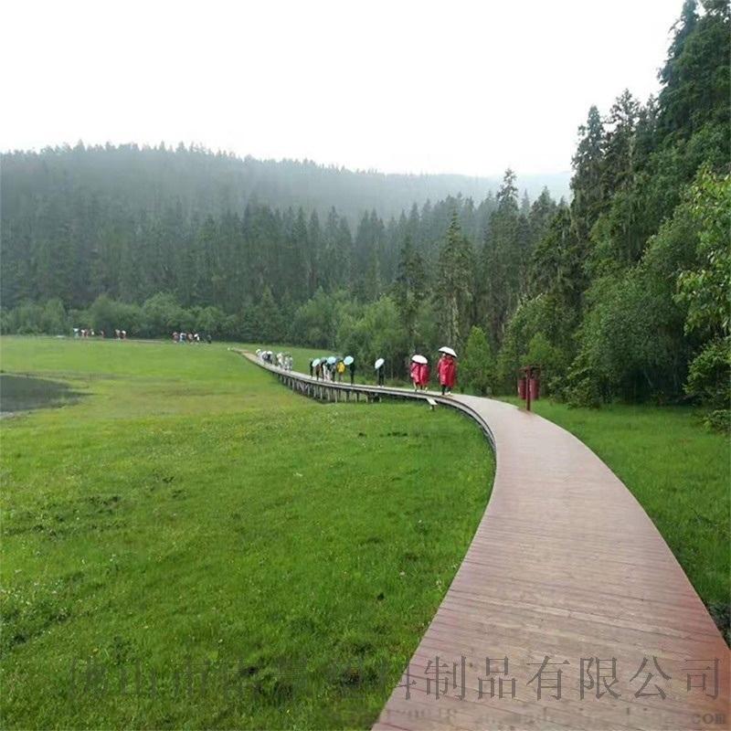 园林景观塑木地板,防霉户外塑木地板