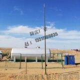 軍用戶外野戰避雷針 臨時車場防雷 12米升降避雷針