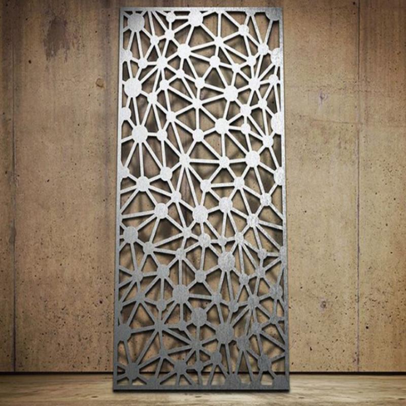 镂空铝窗花厂家直销隔断造型铝窗花定制