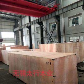 无锡木包装厂家生产出口胶合板木箱免熏蒸