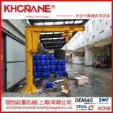 锟恒销售立柱式3吨电动悬臂吊 小型移动式悬臂吊