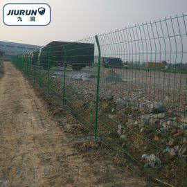 无边框护栏网 园林绿化防护网 浸塑双边护栏网 公路围栏