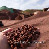 本格供应园艺火山石颗粒 滤料火山岩