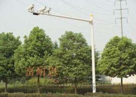 八角监控立杆道路交通信号灯杆杆卡口立柱L型杆件