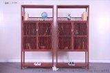 血檀白胚书柜二组合  红木家具