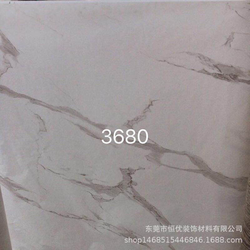 厂家定做爵士白大理石纸底部无胶表面可以喷漆
