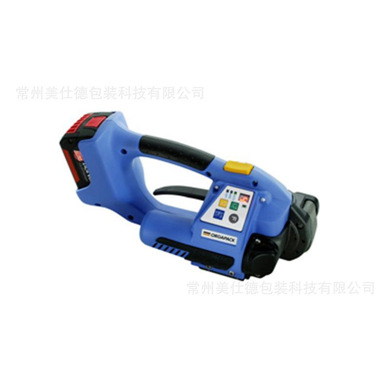 供应进口ort系列小型手提式电动PET塑钢带打包机电池充电捆扎机