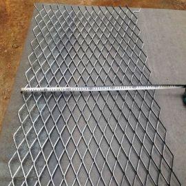 宝旭菱形公路防护围栏 建筑隔离钢板网 热镀锌拉伸网建筑钢筋网