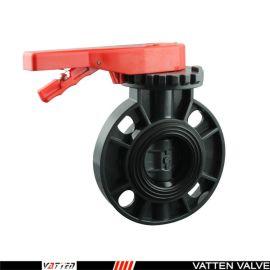 德国VATTEND671X-10\16上海生产厂家中德合资 德国vatten品牌、 手动UPVC蝶阀