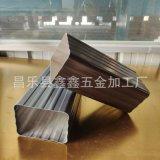 天津鋁合金雨水管生產 金屬排水管