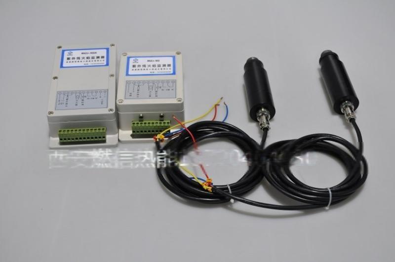 西安紫外線火焰檢測就地箱控制盒 火焰檢測控制器