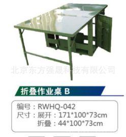 厂家直销 数码迷彩/军绿户外野战折叠桌椅 野战作业桌 指挥桌