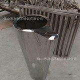 厂家直销不锈钢花盆 圆形花器花筒落地式式组合式花盆不锈钢简约