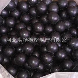 工业用实心橡胶弹力球 振动筛橡胶弹力球