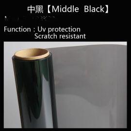 【20%中黑】厂家直销汽车玻璃窗户膜汽车防晒膜汽车太阳膜防爆膜