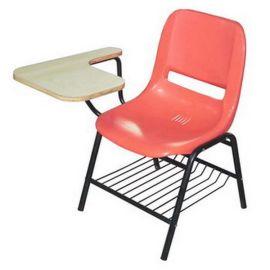 工厂直销塑钢会场记录椅