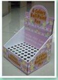 【专业厂家定制】圆珠笔展示盒  柜台展示架  纸质印刷展示道具   商超物料   节假日促销架