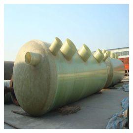 污水化粪池玻璃钢化粪池安装方法