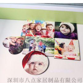個性化空白MDF熱轉印兒童益智玩具木質拼圖