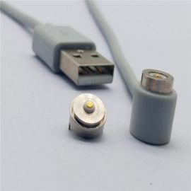 供应磁性公母座连接器 磁力公母座连接器导航金属磁性接头超强吸附力磁铁插头 磁吸连接器 磁铁连接器