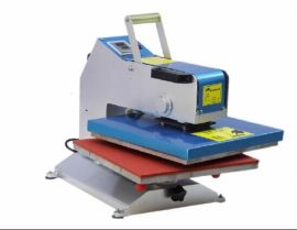 专业生产各式热转印烫画机、新款摇头机、高压烫画机