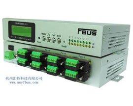 福巴斯FBUS 8口RS-232/422/485/光电隔离桌面型串口服务器FBPORT2820-8-DI 杭州汇特科技