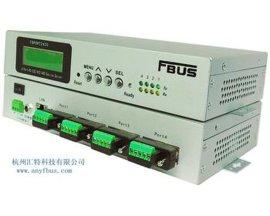 福巴斯FBUS 4口RS-232/422/485串口服务器 FBPORT2420 杭州汇特科技