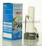 深圳市沙井尔泉单级台上式净水器配陶瓷滤芯加内置活性炭滤芯